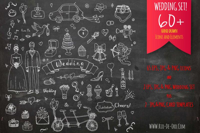 60-hand-drawn-wedding-elements