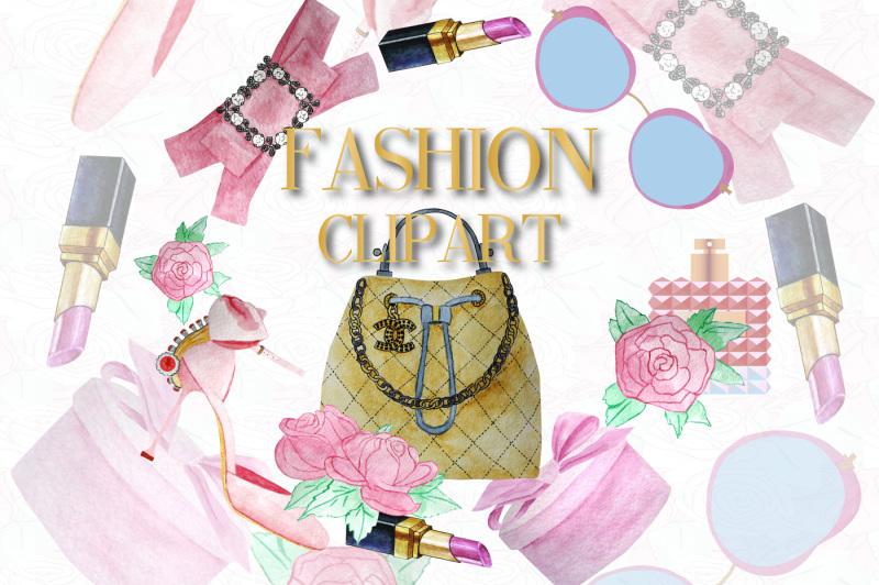 watercolor-fashion-clipart