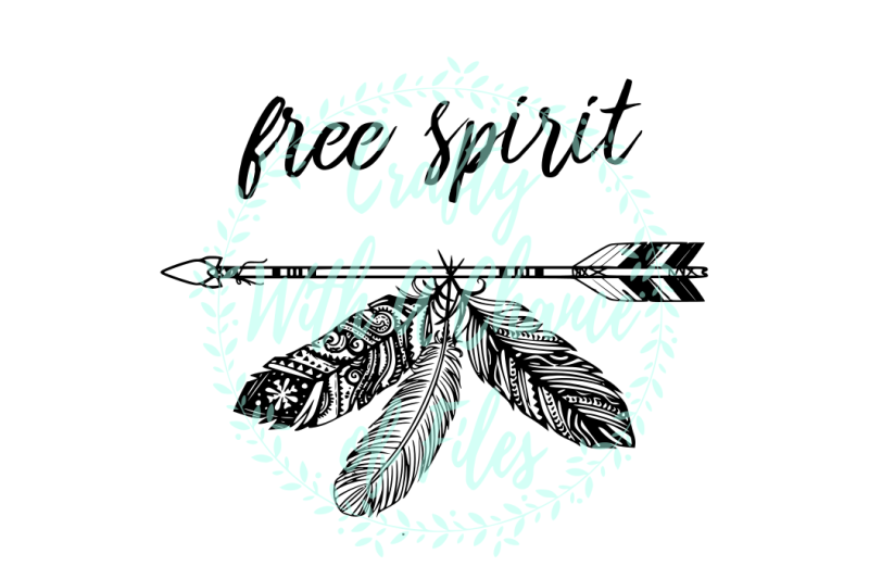 free-spirit-svg-tribal-arrow-svg-feathers-svg-tribal-bohemian-svg-arrow-svg-inspirational-svg-tribal-boho-svg-boho-svg-bohemian-svg