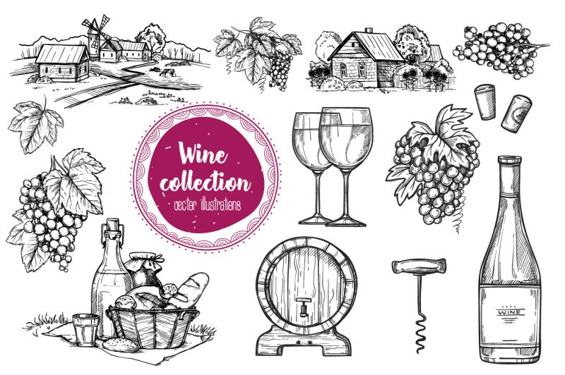 wine-vintage-illustration