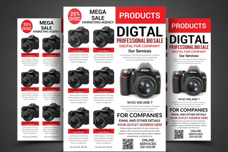 products-big-sale-flyer