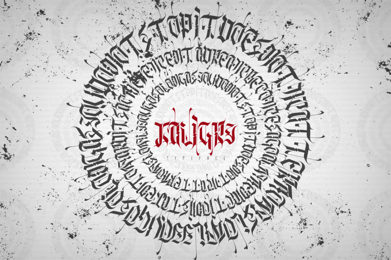 kaligry-font