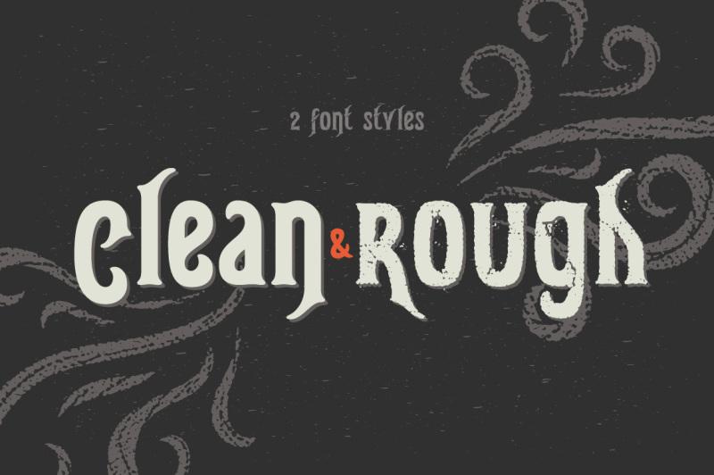 gunshot-typeface