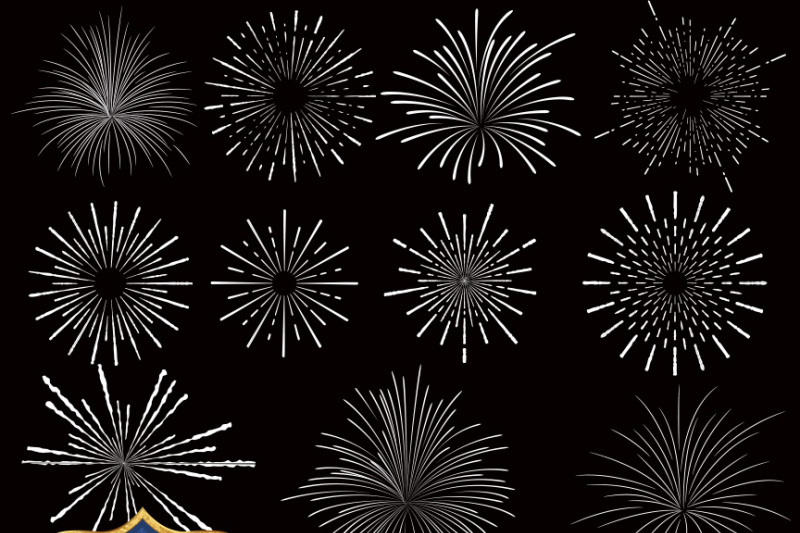 fireworks-vector-clipart
