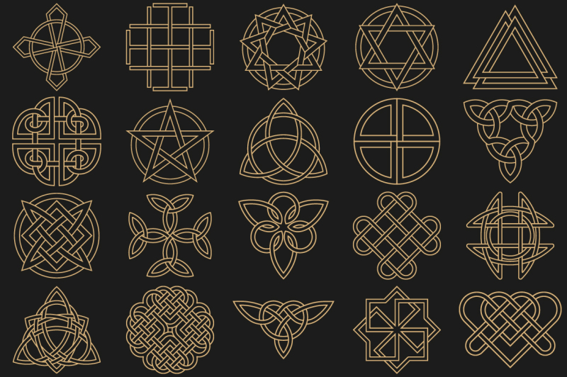 ancient-symbols-in-celtic-style