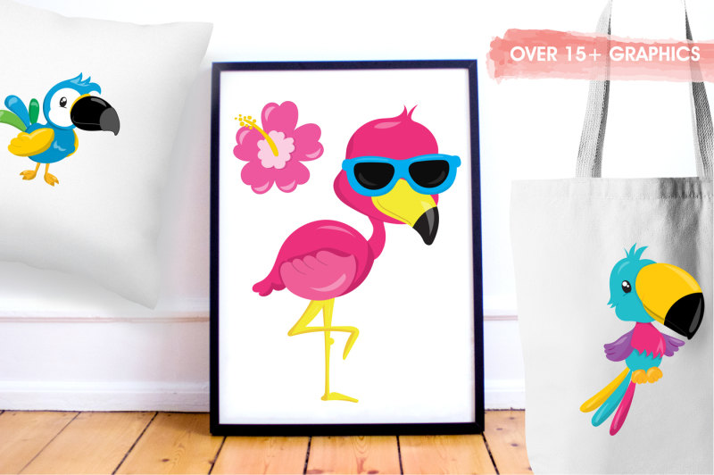 tropical-birds-graphics-and-illustrations