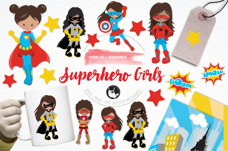 superhero-girls-graphics-and-illustrations