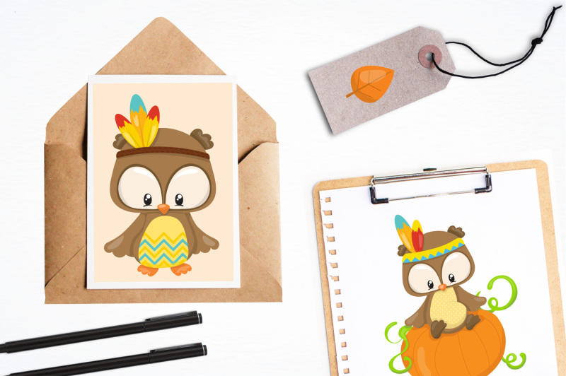 thanksgiving-owls-graphics-and-illustrations