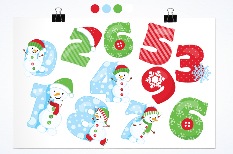 snowman-numbers-graphics-and-illustrations