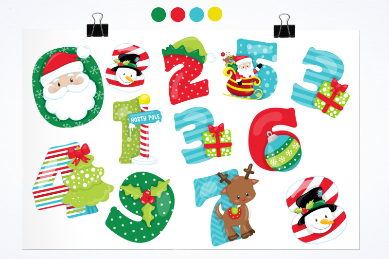 christmas-numbers-graphics-and-illustrations
