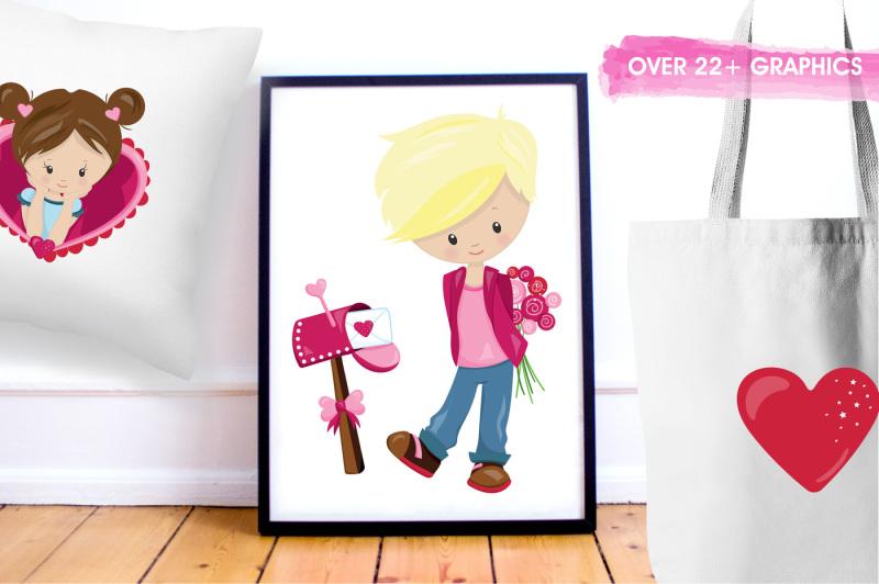 valentine-kids-graphics-and-illustrations