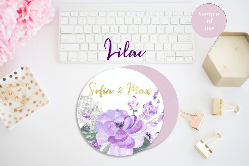 lilac-soft-purple-watercolor-clipart