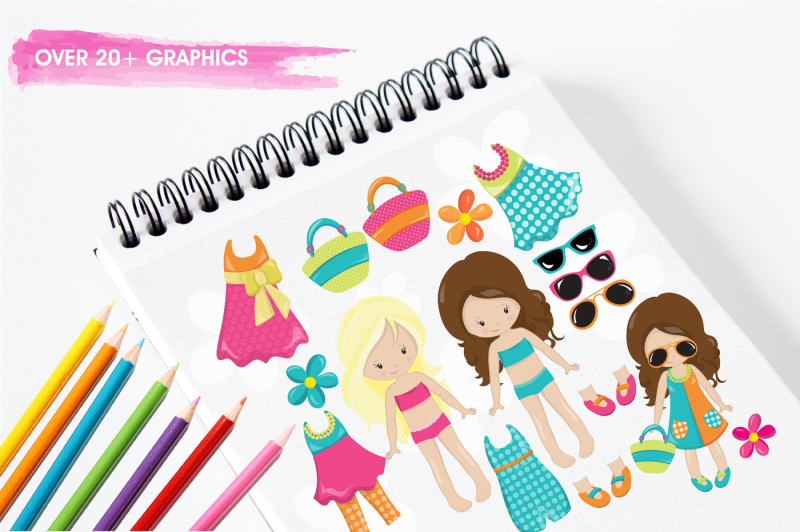 girl-party-graphics-and-illustrations