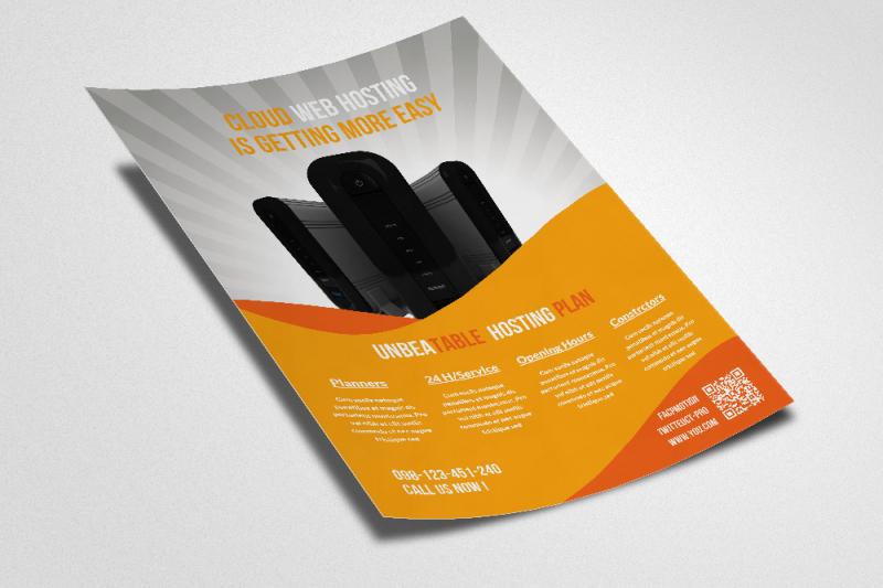 web-hosting-flyers