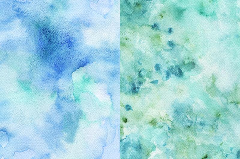 set-of-handdrawn-watercolor-textures