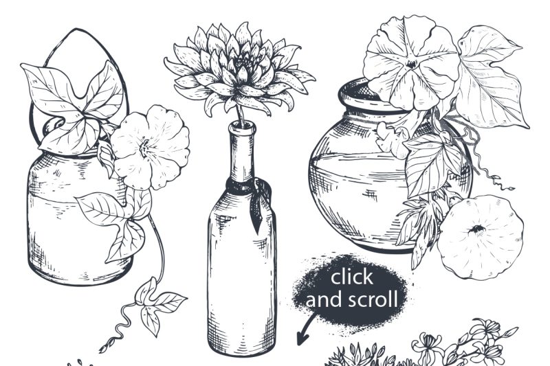 hand-drawn-flowers-and-bouquets