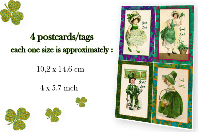 shamrock-good-luck-cards-and-postcards
