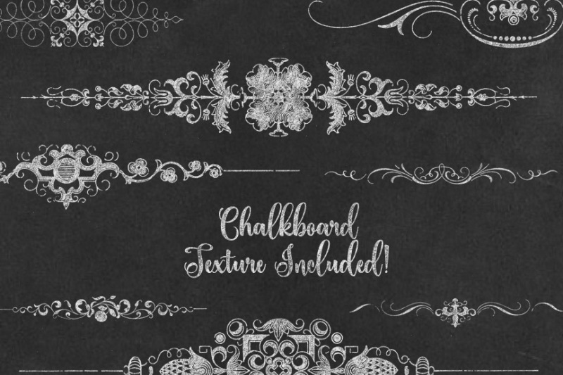 chalkboard-text-dividers
