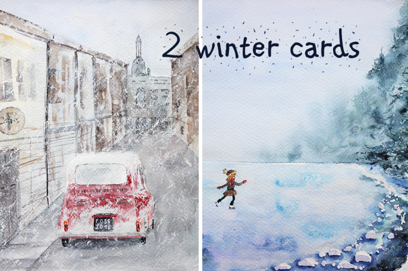 snowy-winter-cards