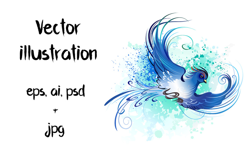watercolor-blue-bird