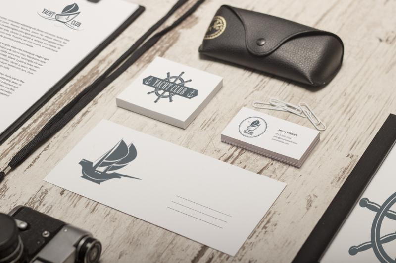 boat-logo-set