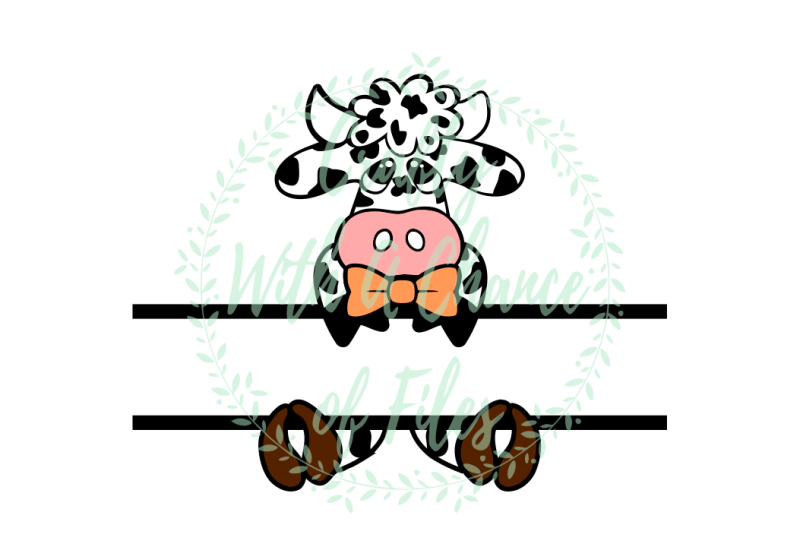 easter-svg-easter-split-design-svg-easter-cow-svg-split-cow-svg-baby-cow-svg-easter-monogram-svg-monogram-name-svg