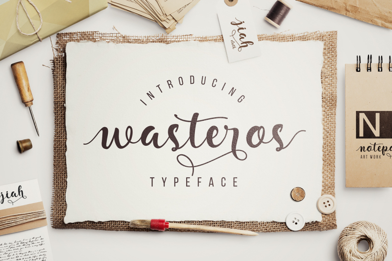 wasteros-typeface