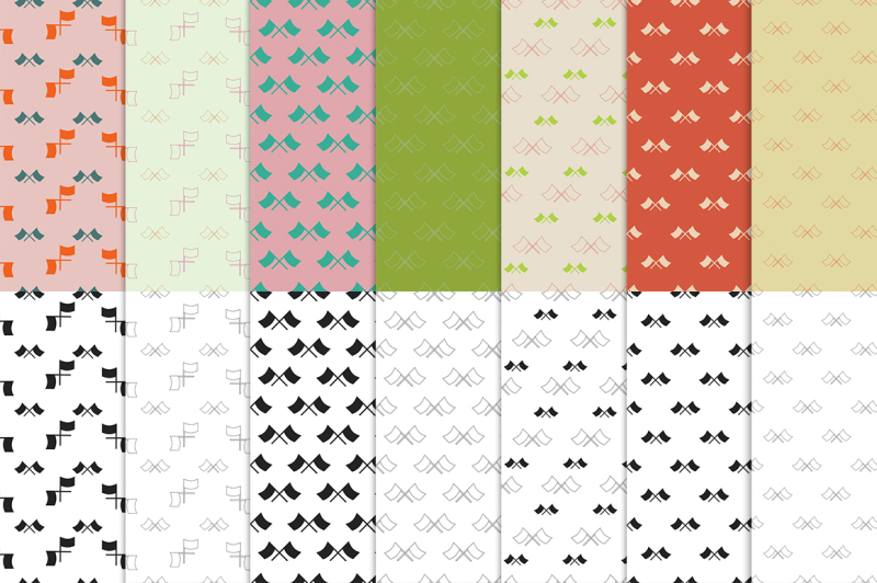 flags-pack-14-seamless-patterns