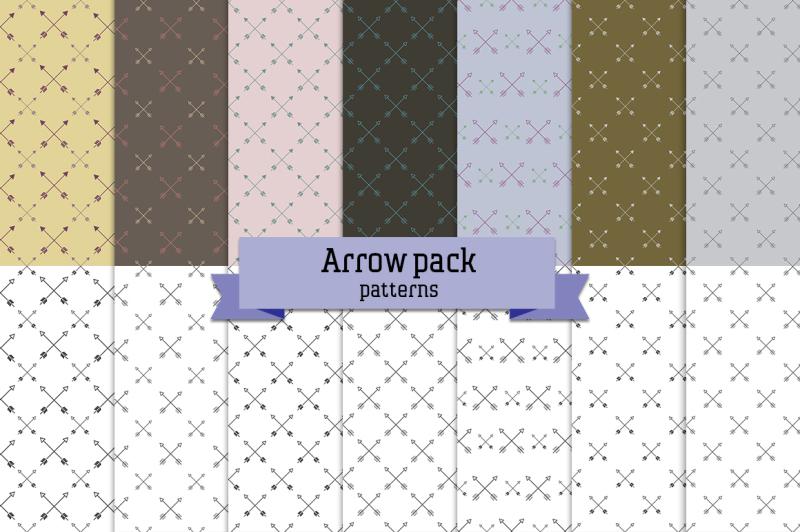 arrow-pack-14-seamless-patterns