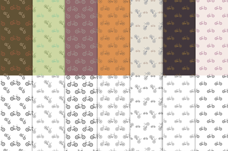 bicycle-pack-14-seamless-patterns