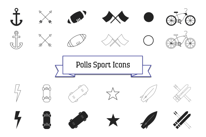 polls-icon-collection