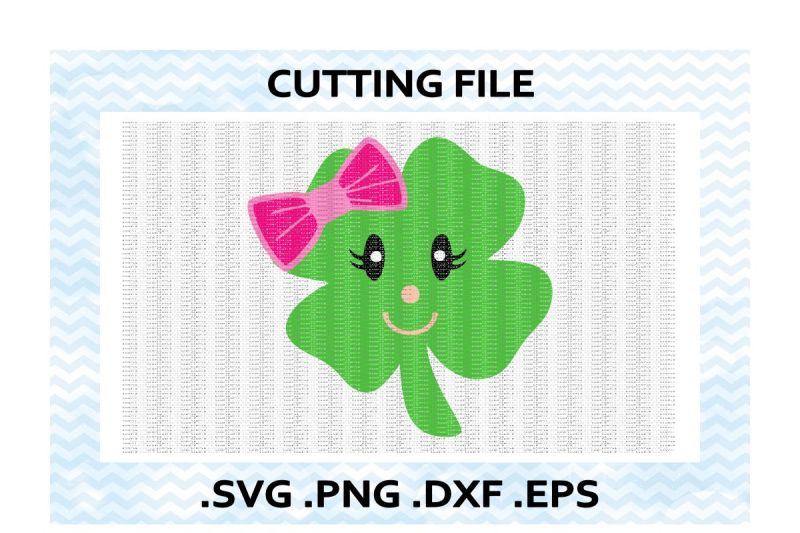 lucky-lady-clover-cutting-files
