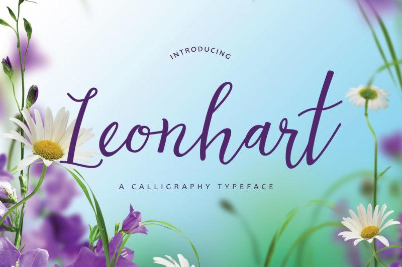 leonhart-typeface