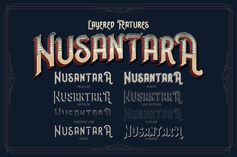 nusantara-layered-typeface