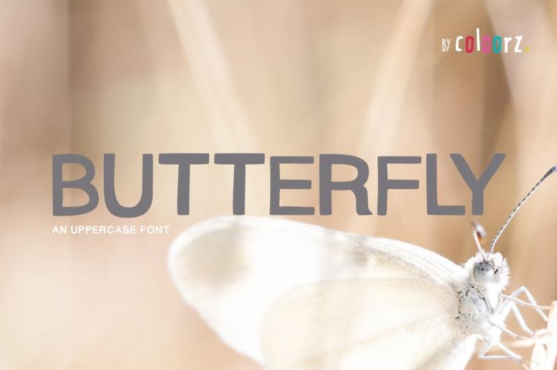 butterfly-font