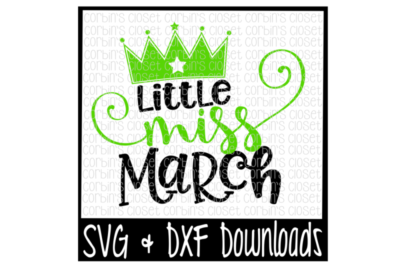 little-miss-march-cut-file