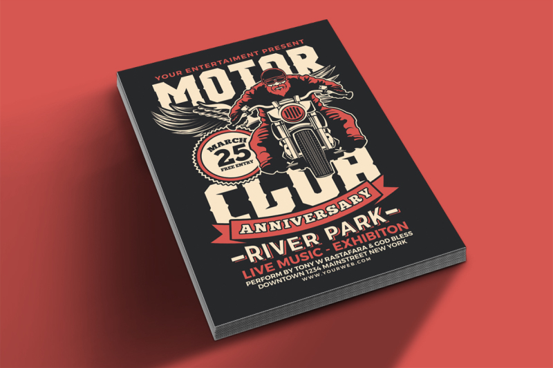 motorcycle-club-event-flyer