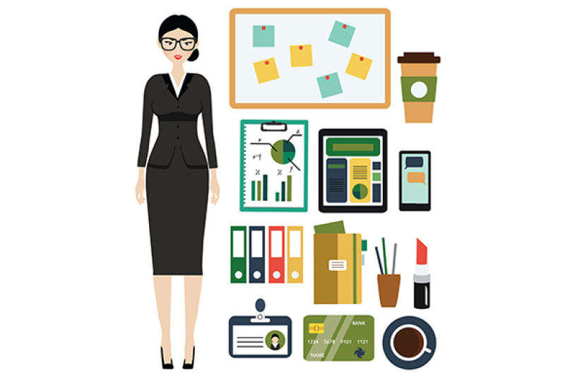 business-woman-kit-female-in-business-outfit-office-clothes-and-stuff