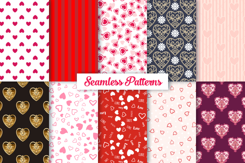 heart-vector-ornaments-and-patterns