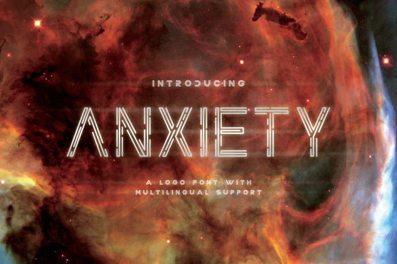 anxiety-font