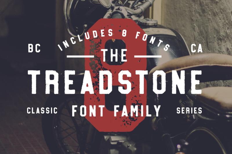 treadstone-8-font-family