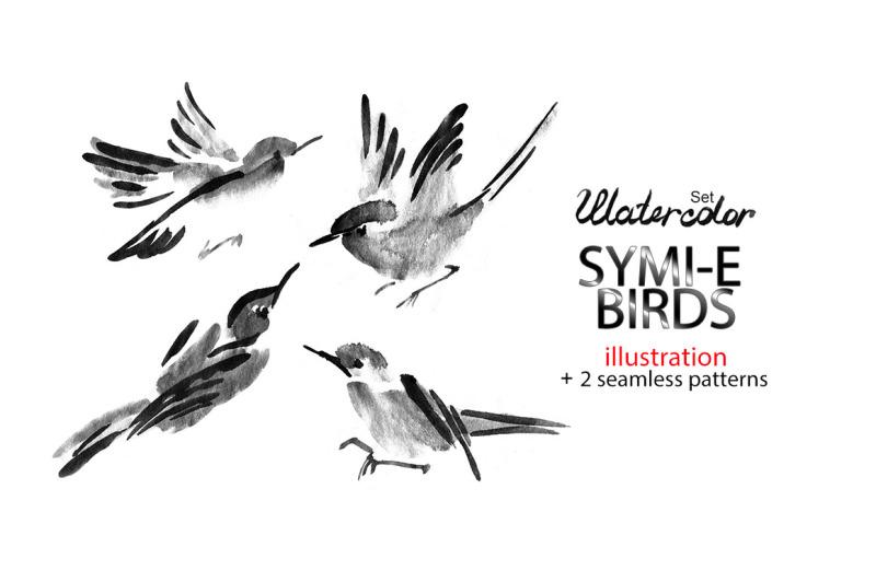 japanese-symi-e-ink-birds