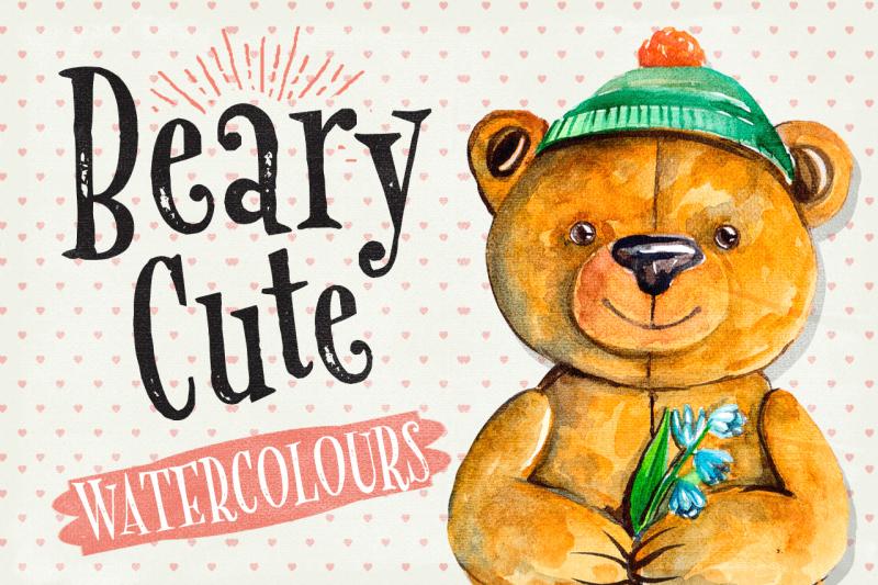 beary-cute-watercolour-illustrations