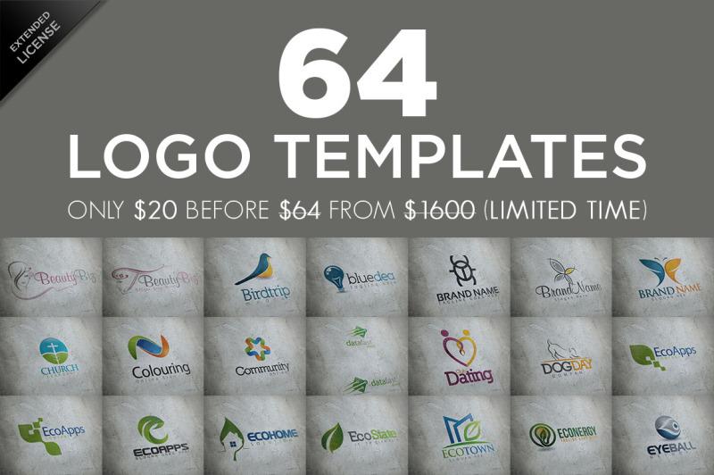 64-logo-templates