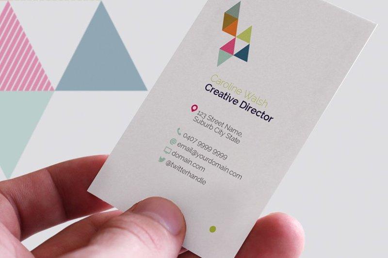monogram-business-cards