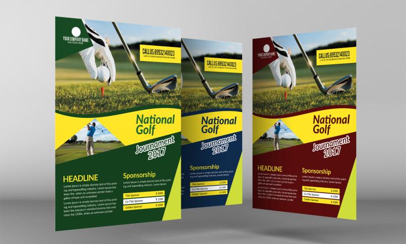 golf-event-flyer-template