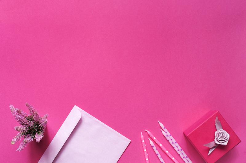 pink-background