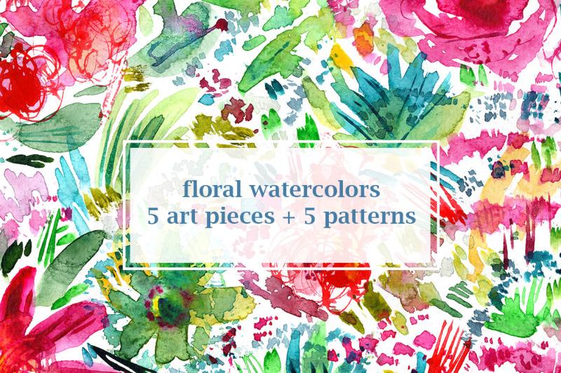 floral-watercolors