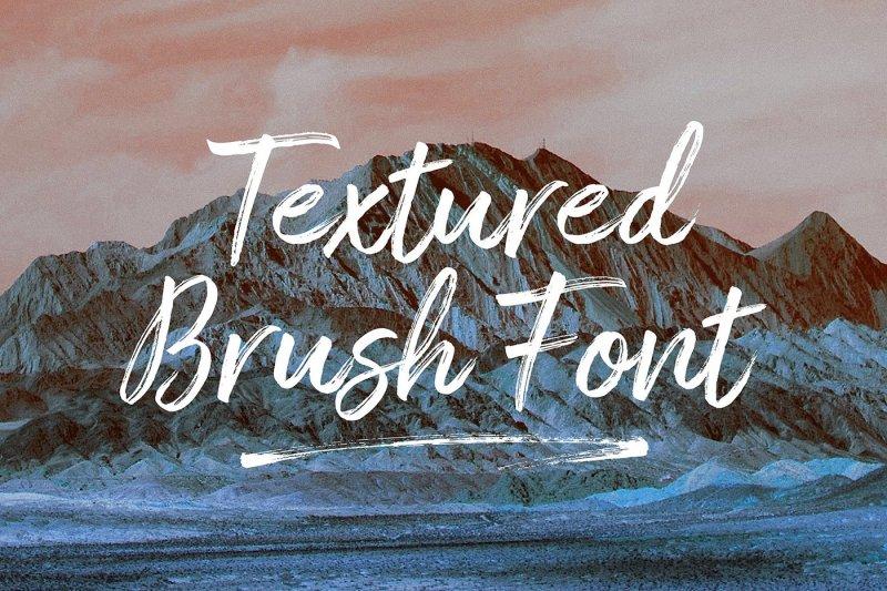 amithen-brush-font