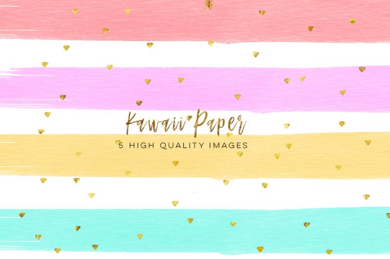 kawaii-watercolor-digital-paper-digital-paper-weekly-stickers-watercolor-paint-clipart-printable-planner-stickers-paper-paper-pack